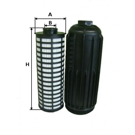 Filtro olio per Iveco Stralis Euro 5 Rif. 500054655 2996416