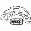 Kit resistenza riscaldamento per Volvo Behr hella 5HL351320801. Riferimenti Volvo : 20443824 20853484