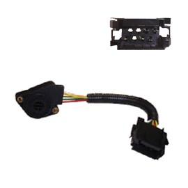 Sensore pedale acceleratore per Volvo FH con connettore tipo vecchio per cambio manuale Cod. 1067291 (Rif. Volvo : 3985226)