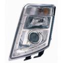 Fanale proiettore anteriore destro regolazione manuale per Volvo FH/FM Cod. 298082008 ( Rif. Volvo 21123489 82304585 )