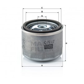 Filtro aria TURBO Iveco (MANN filter)