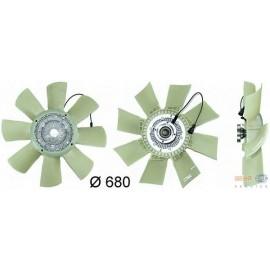 Ventola raffreddamento motore visco statica Behr Cod. : 8MV376730-131 per Volvo FM