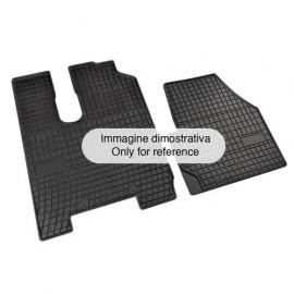 Set tappeti su misura in gomma - Iveco Stralis cab. larga/large - Iveco Trakker