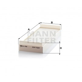 Filtro abitacolo Mann Filter per Man TGA TGL TGM TGX TGS