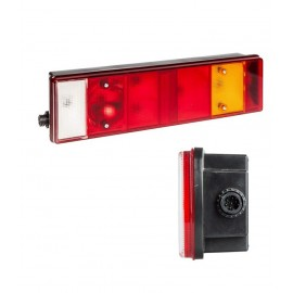 Fanale 7 funzioni destro senza luce targa