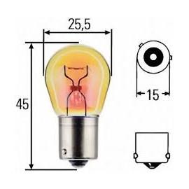 Lampadina PY21W 24V 21W arancio HD