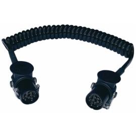 Spirale elettrica 15 poli 24V in Poliuretano ISO 4141/12098 Ø spira 30 mm. lunghezza max. estensibile m. 4 Menber's