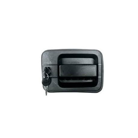 Kit maniglia con chiave sinistra per Iveco Eurocargo, Eurotrakker, Eurostar, Eurotech ( Rif. Iveco : 98404710 )