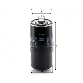 Filtro olio Iveco MANN filter ( Rif. Iveco : 2992544 504026056 99445200 )