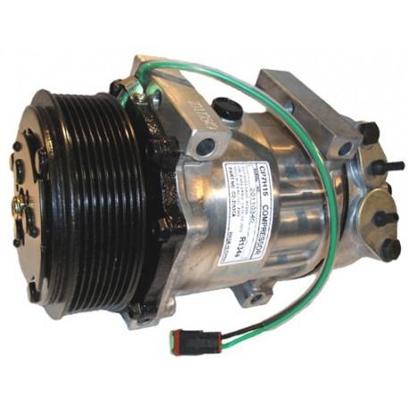 Compressore aria condizionata per Scania serie R P G T e serie 4 ( Rif. Scania : 1376998 1412263 )