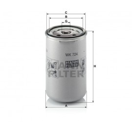 Filtro carburante Iveco (MANN filter)