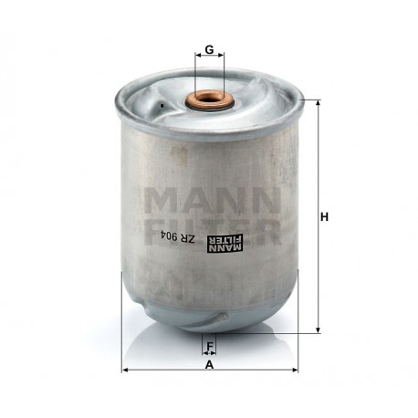 Filtro olio Renault trucks (MANN filter)