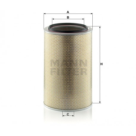 Filtro aria Iveco (MANN filter)