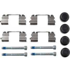 Serie pastiglie freno anteriori Textar 2922902 per Nissan Cabstar e Renault Maxity ( Rif. : D1060MB600 D1060MB60A 5001868606 )