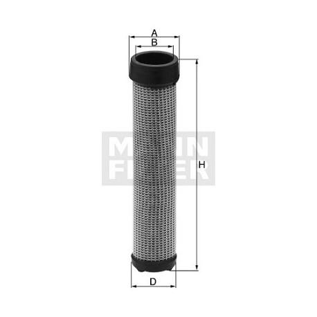 Filtro aria motore interno Mann Filter per Astra Iveco ( Rif. Astra : 128076 )