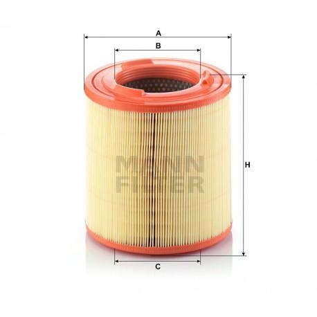 Filtro aria motore Mann Filter ( Rif. Renault : 5001869822 7485119973 Nissan : 16546-MA70A 16546-MA70C )