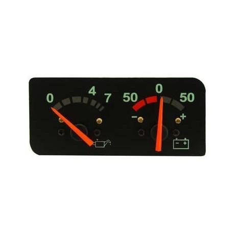 Strumento manometro pressione olio e voltmetro per Scania serie 4 ( Rif. 1434135 )
