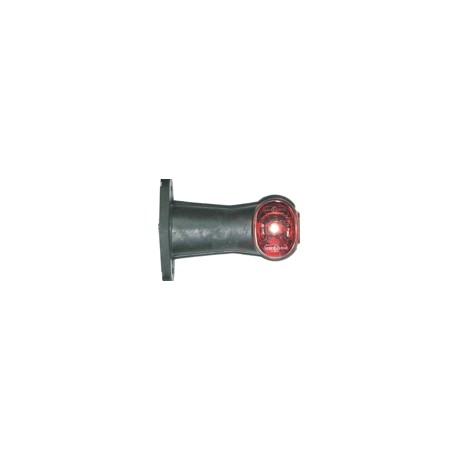 Luce ingombro SUPERPOINT II diritto con cavo 1,25 m. 24 volt