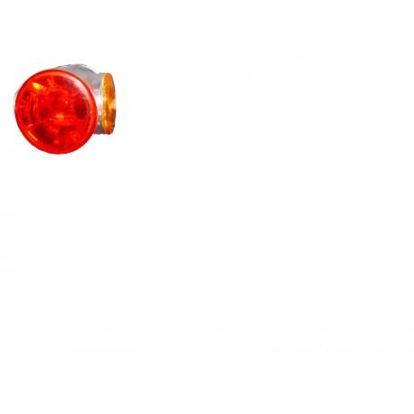Gemma per luce ingombro SUPERPOINT II bianca/rossa 12/24 volt,dx/sx, 60 e 90 °