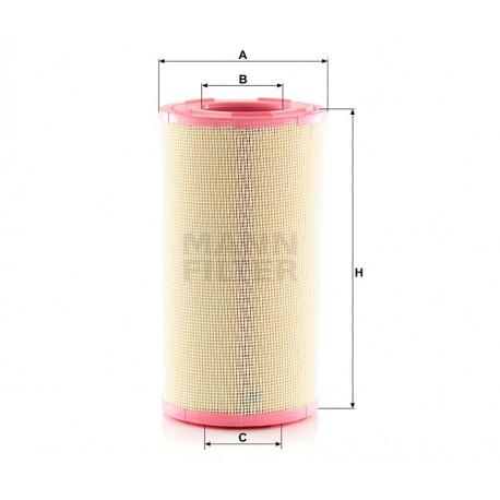 tro aria motore Mann Filter per Daf XF105