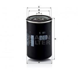 Filtro aria Mann Filter per Daf