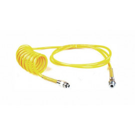 Spirale aria gialla per rimorchio