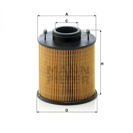 Kit filtro urea Adblue Mann Filter