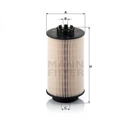 Filtro carburante gasolio Mann Filter