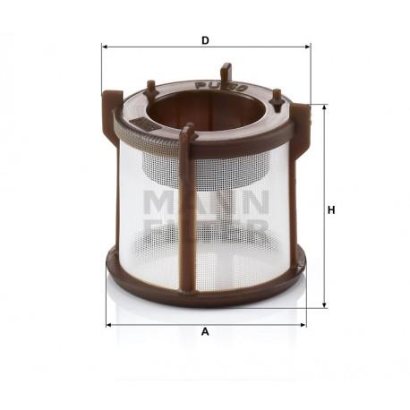 Filtro carburante gasolio Mann Filter per Man