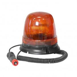 Lampeggiante alto 12/24V arancio magnetico