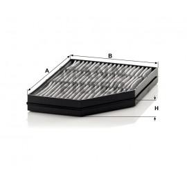 Filtro abitacolo Mann Filter ai carboni attivi