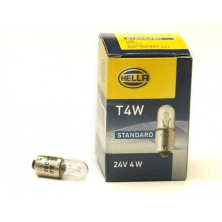 Confezione lampadine 24V 4W Hella