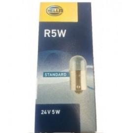 Confezione lampadine R5W Sfera 24V 5W Hella