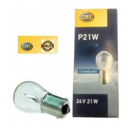 Confezione lampadine 24V 21W sfera Hella