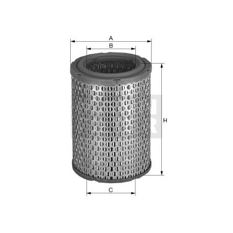 Filtro aria motore Daf Trucks (MANN filter)