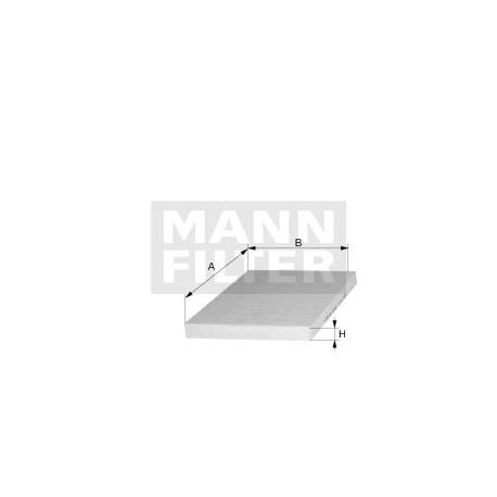 Filtro abitacolo Man trucks (MANN filter)