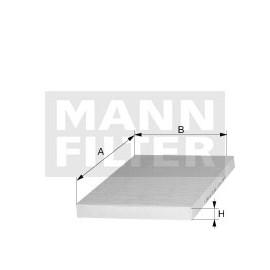 Filtro abitacolo Iveco (MANN filter)