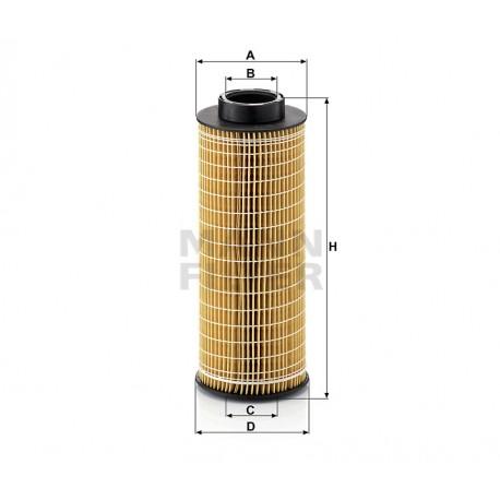 Filtro olio Scania (MANN filter) HU1072X ( Rif. Scania 1439036 1873014 2057893 )