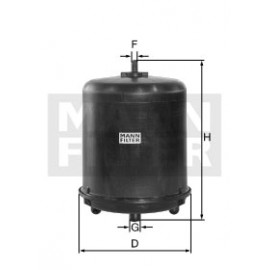 Filtro olio centrifuga per Daf Mann Filter