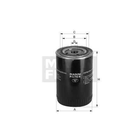 Filtro olio Iveco/Daf (MANN filter)