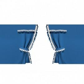 Oscura, tende perimetrali per camion, cabina standard - Blu