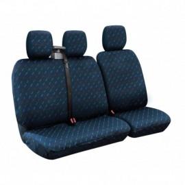 Dido-2, set fodere per furgone con avvolgicintura - Blu