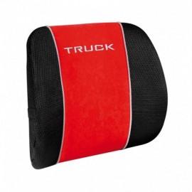 Trucker, supporto lombare ortopedico - Rosso