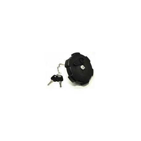 Tappo serbatoio gasolio 80mm in plastica con chiave ventilato