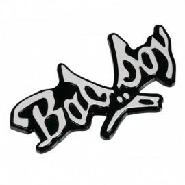 Emblema 3D cromato - Bad Boy