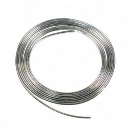 Profilo adesivo cromato - 25 m - 4 mm