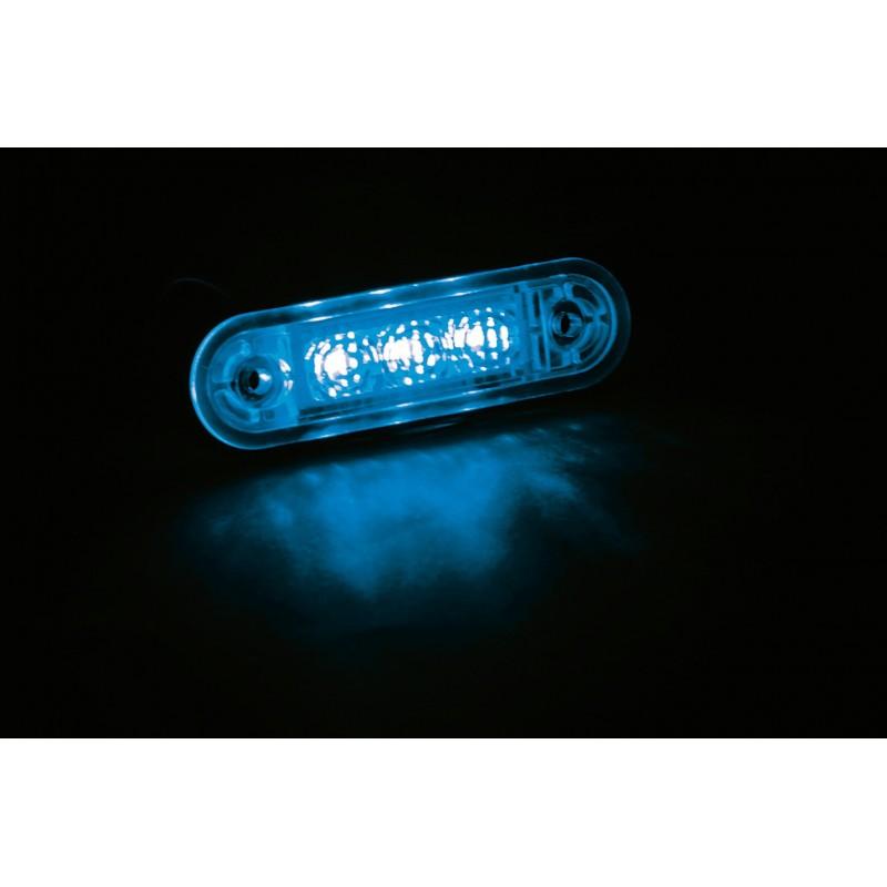 Luce da incasso a led 24v blu for Luce led blu