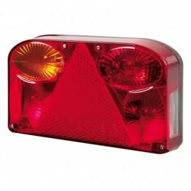 Deluxe, fanale posteriore 8 funzioni 12V - Sinistro