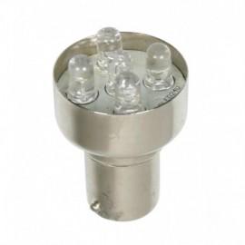 24V Lampada Multi-Led 5 Led - (R10W) - BA15s - 1 pz - D/Blister - Bianco