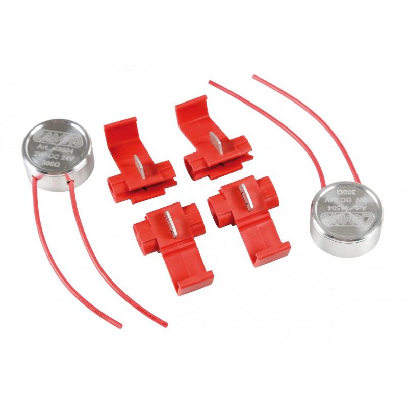 Cheat box kit per lampadine a led 24v 300 ohm 2 w for Kit lampadine led